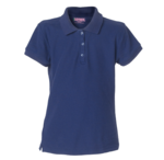 Girls Pique Polo Shirt Long Sleeve